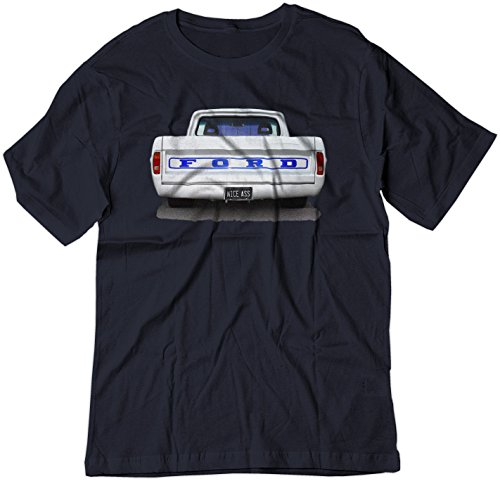 BSW Men's Nice Ass Ford Truck Classic Car Muscle Hot Rod Shirt 3XL Navy