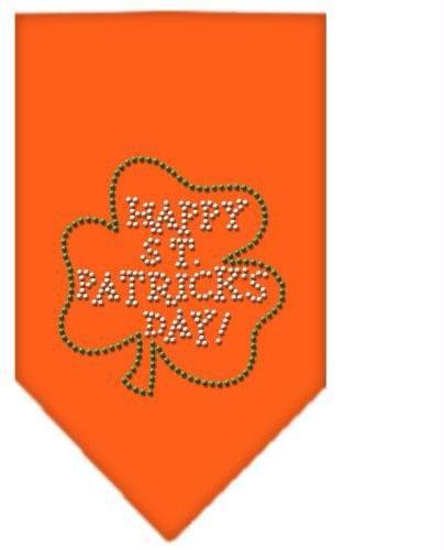 Happy St. Patricks Day Rhinestone Bandana Orange Large Case Pack 24 Happy St.... by DSD