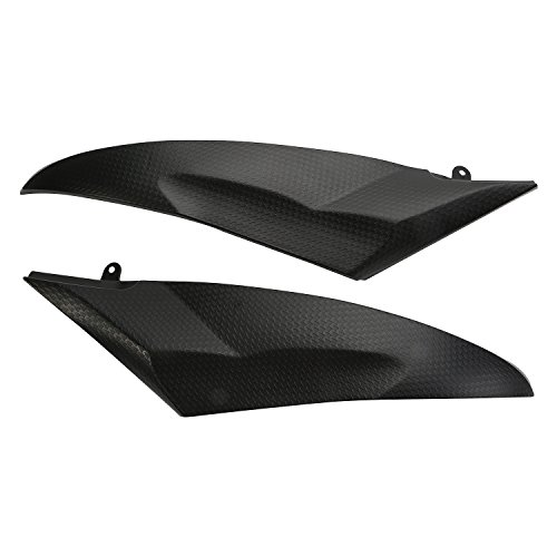 2007 Yamaha Yzf R6 - CICMOD Under Gas Tank Side Fairing Cover Plastic Insert Trim For Yamaha YZF R6 2006 2007 with Pre-drilled Hole & Direct Bolt On