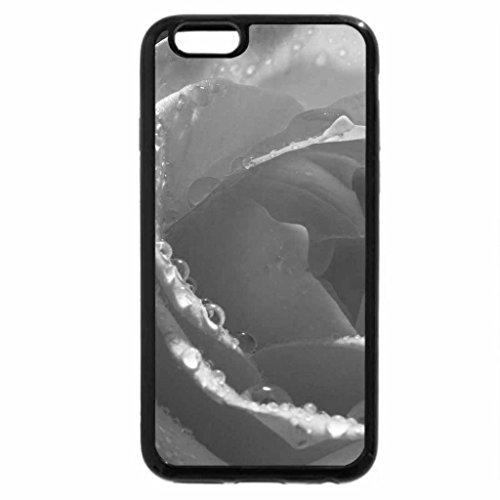 iPhone 6S Plus Case, iPhone 6 Plus Case (Black & White) - Wet softness