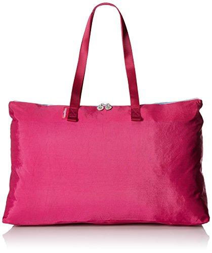 Baggallini Foldable Travel Tote, Fuchsia/Pink