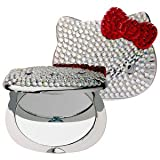 Cheap Hello Kitty Ruby Compact Mirror 40th Anniversary Limited-Edition