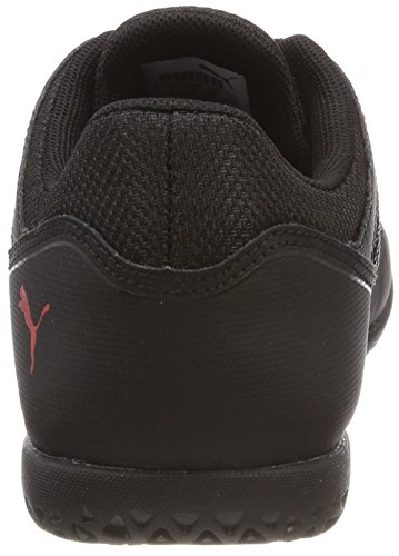 de Scarlet 365 Puma Mixte Enfant Jr Football Puma Black Chaussures Nf flame Noir CT xpO1Xq