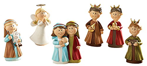 6pc Precious in His Sight Childrens Christmas Nativity