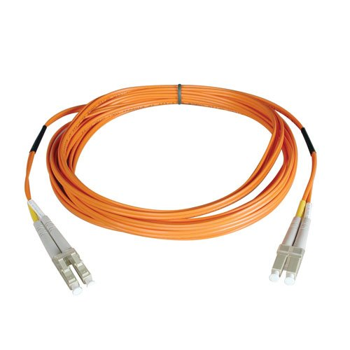 Tripp Lite Duplex Multimode 50/125 Fiber Patch Cable (LC/LC), 152M (500-ft.)(N520-152M) by Tripp Lite