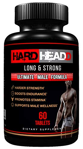 HARD HEADD Climax Pills for Ultimate Male Performance and Impressive Size - Maximum Strength