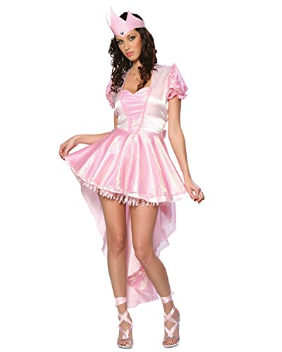 Glinda Ballerina Adult Costume - Good Movie Couple Costume Ideas