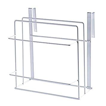 Multifunctional Kitchen Under Sink Organizer - Great for Cabinet Cutting Boards Storage Rack Stainless Steel Baking Sheets by Kaimao(Black)