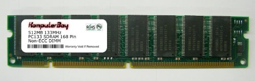 (KOMPUTERBAY 512MB PC133 SDRAM 133MHz DIMM - Limited Compatibility)