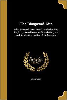 Book The Bhagavad-Gita