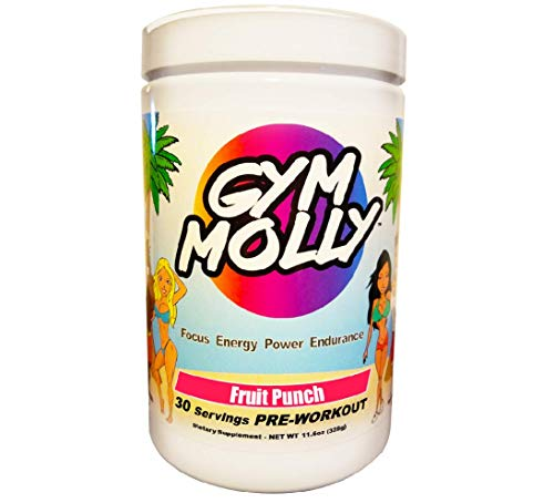 Gym Molly – Fruit Punch – PreWorkout Multiple Flavors Available
