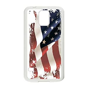 American Flag, Bold Vivid Color Design Snap-on Cover Hard Carrying Case For Samsung Galaxy S5 TPUKO-Q773914