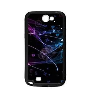 Case For Samsung Galaxy Note2 N7100,Butterfly Flutters Polycarbonate Hard Case Back Cover For Samsung Galaxy Note 2/Samsung Galaxy N7100 3D