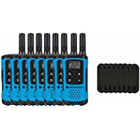 Motorola T100 Two-Way Radios / Walkie Talkies 8-PACK