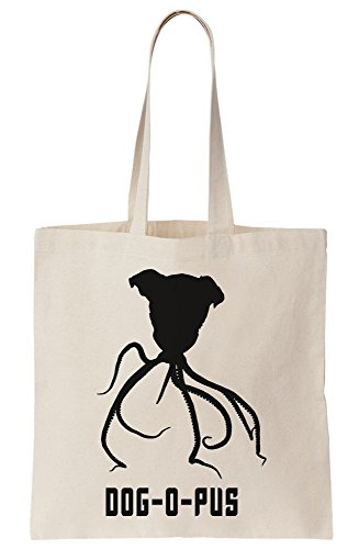 PUS Tote Canvas Pun Dog Tribute O Octopus Bag 4xY5xOwq
