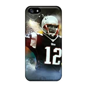 MansourMurray Iphone 5/5s Bumper Hard Phone Covers Provide Private Custom Realistic New England Patriots Image [WbH3493zEGP]
