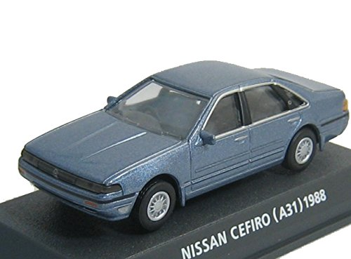 コナミ 1/64 Car of the 80's EDITION BLUE 日産 セフィーロ 型式A31 1988 コバルトブルー B00XU63YOU