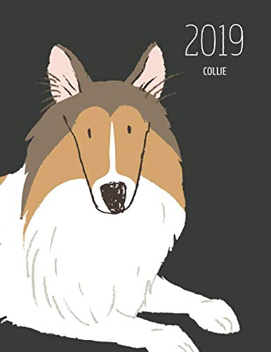 2019 Collie: Dated Weekly Planner With To Do Notes & Dog Quotes - Collie Brown White (Awesome Calendar Planners for Dog Owners Dark)