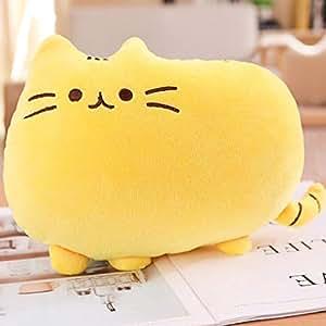 Amazon.com: Lindo gato gordito bebé peluche almohada muñecas ...