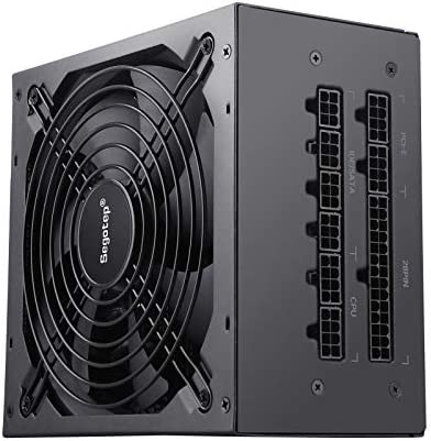 Segotep 750W Fully Modular ATX Black Power Supply 80 Plus Gold Certified