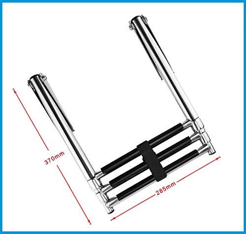 3 Steps Steps Steps Boat Stainless Steel 304 Telescoping Folding