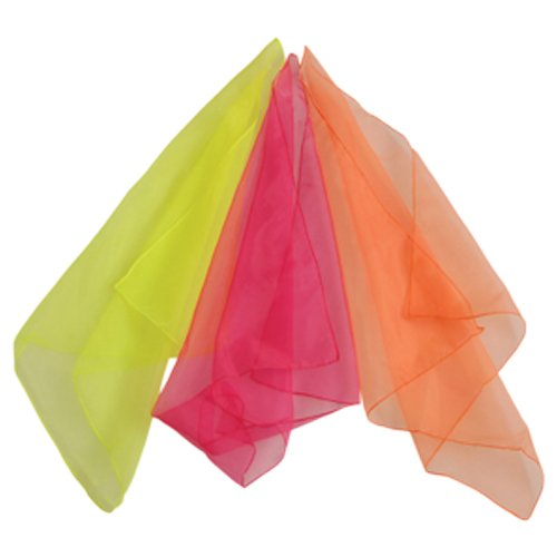 Artistic Costumes & Dance Supply (Music & Movement Scarves - Active Playtime Accessory)