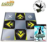 DDR SuperNova 2 and Dance Dance Revolution ENERGY metal dance pad for PS/ PS2 - Xbox - PC