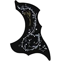 Guitar Ornament Scratch Protection Plate Ballad Wooden Guitar Sweep String Protective Board Pickguard