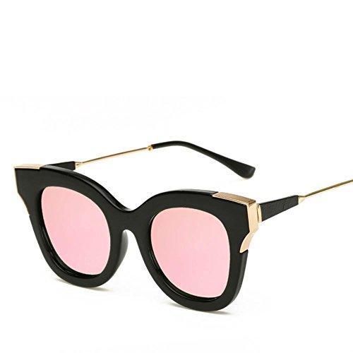 XYLUCKY Occhiali da sole UV400 dell'annata con metallo Cornici e Lens PC , d
