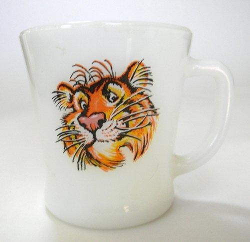 (Vintage Esso Fire King Tiger Coffee Mug)