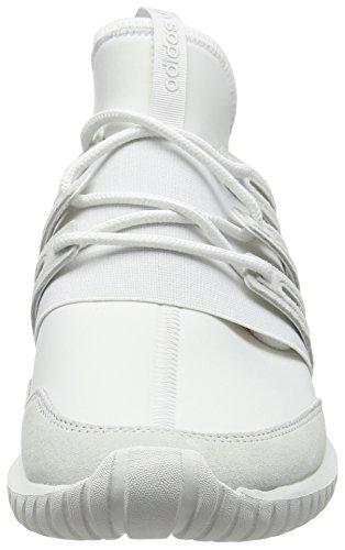 adidas Unisex-Erwachsene Tubular Radial High-Top Weiß (Crystal White/Crystal White/Crystal White)
