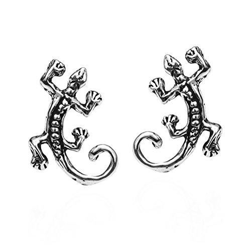 .925 Sterling Silver Stud Earrings ()