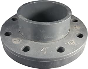 "Spears 4"" Schedule 80 PVC Pipe Flange"