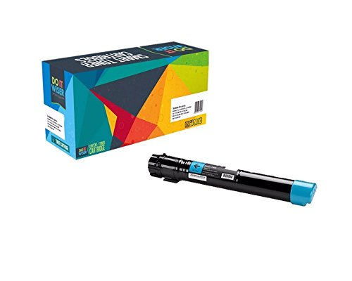 Do it Wiser Compatible High Yield Toner Cartridge Replacement for Xerox Phaser 7500 7500N 7500DN 7500YDN 7500DT 7500YD (7500 Cyan Toner)