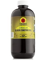 Tropic Isle Living- Jamaican Black Castor Oil (8 oz) Plastic PET Bottle