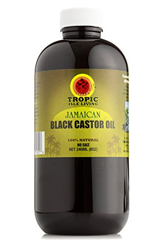 Tropic Isle Living Jamaican Black Castor Oil PET Bottle (8 ounce)