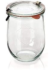 Toysdone Weck Tulip Jar - Single 1-Liter Jar