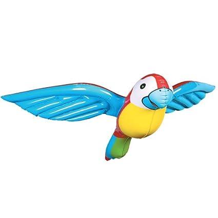 Amazon.com: Parrote hinchable para fiestas de 4.7 in.: Toys ...