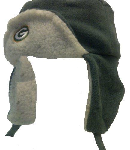 Green Bay Packers Fleece Trooper Cap (L/XL)