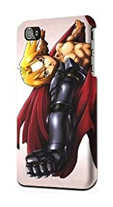 Fullmetal Alchemist Hagane no Renkinjutsushi Edward Elric Snap on Plastic Case Cover Compatible with Apple iPhone 5s