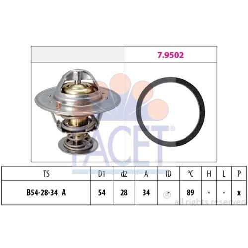 (Facet - Engine Coolant Thermostat - 7.8220)