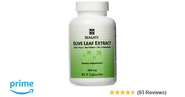 Seagate Products Olive Leaf Extract Supplements 450mg 90 Cap