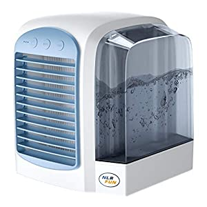 NLR Enfriador de Aire Personal con Tanque de Agua, Ventilador portátil de Mesa de refrigeración por Agua | 3 velocidades… 41Q3symMjgL