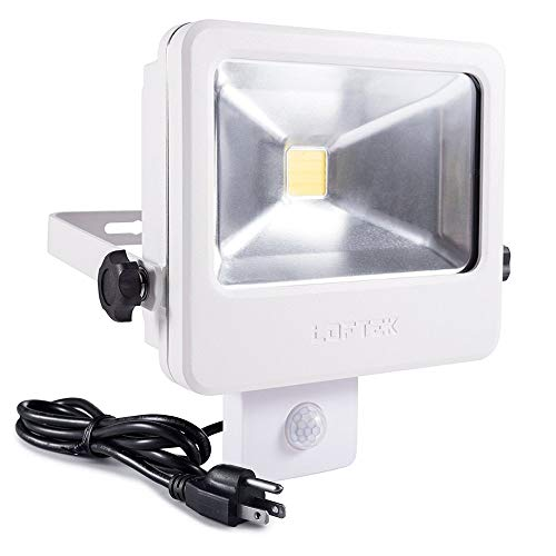Motion Sensor Flood Light Plug In in US - 7