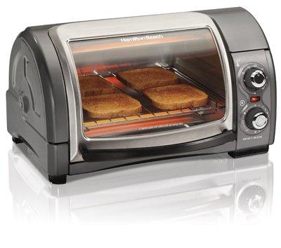 Hamilton Beach Brands 31334 Toaster Oven, 4-Slice, Roll Top - Quantity 2