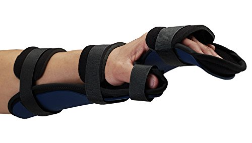 (Rolyan Kydex Functional Resting Orthosis for Right Wrist, Wrist Splint for Tendinitis, Inflammation, Carpal Tunnel, Tendonitis, Wrist Splint & Forearm Support and Alignment, Requires Heat Gun, Large)