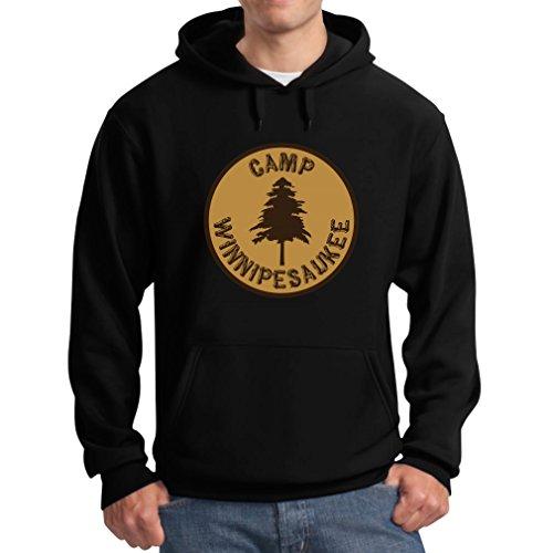 Tstars Men's - Camp Winnipesaukee Hoodie XX-Large Black
