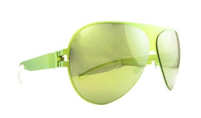 Amazon.com: Mykita Franz F59 verde lima con marco amarillo ...
