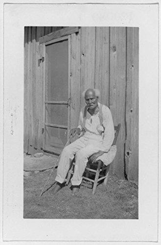 1937 Photo Jas. Boyd, ex-slave, Waco Location: Bexar, Mclennan, San Antonio, Texas, - Waco In Texas Shopping