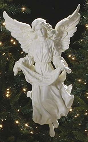 27'' Joseph's Studio Gloria Angel Outdoor Christmas Nativity Statue by Roman